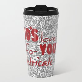 God's Love for You Travel Mug