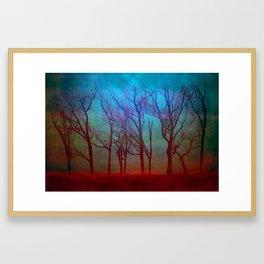 Landscape of a Fantasy Framed Art Print