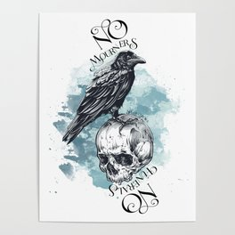 Six of Crow - No mourners no funerals Poster