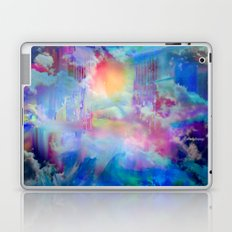 You Are entering a beautiful place called heaven  by Sherriofpalmsprings Laptop & iPad Skin