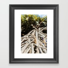 Nature in your dreams Framed Art Print
