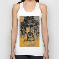 zappa Tank Tops featuring Zappa by sladja