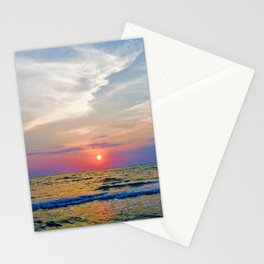 Naples Florida sunset on the Gulf of Mexico Stationery Cards