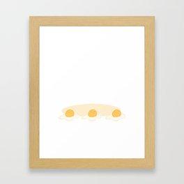 Eggies Framed Art Print