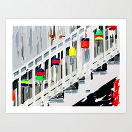 Buoys of Summer Art Print