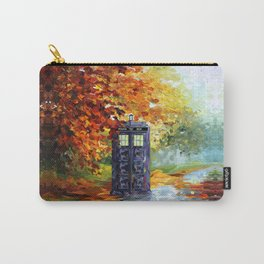 starry Autumn blue phone box Digital Art iPhone 4 4s 5 5c 6, pillow case, mugs and tshirt Carry-All Pouch