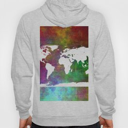 WORLD MAP #society6 Hoody