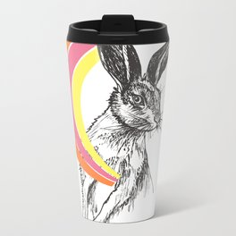 Rainbow Collection / rabbit Metal Travel Mug