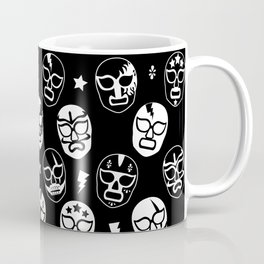 Máscaras (Black & White) Coffee Mug