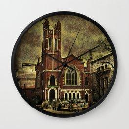 Dark City Wall Clock