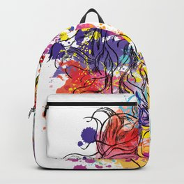 spring girl Backpack
