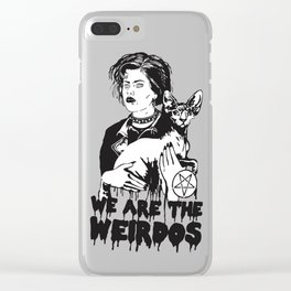 We Are The Weirdos, Mister Clear iPhone Case