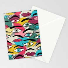 Eye, EyeBrow Stationery Cards
