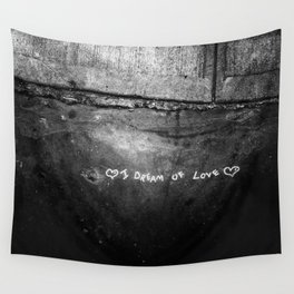 New York City I Dream of Love Wall Tapestry
