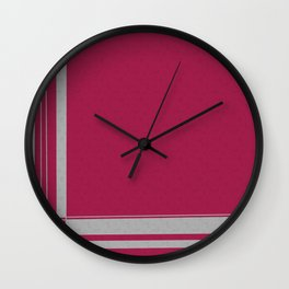 Linear Wall Clock