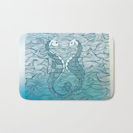 Seahorse Love Bath Mat