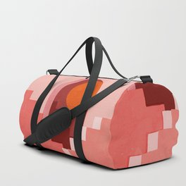 Abstraction_SUN_Architecture_Minimalism_001 Duffle Bag