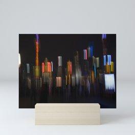 Shanghai Skyline II Mini Art Print