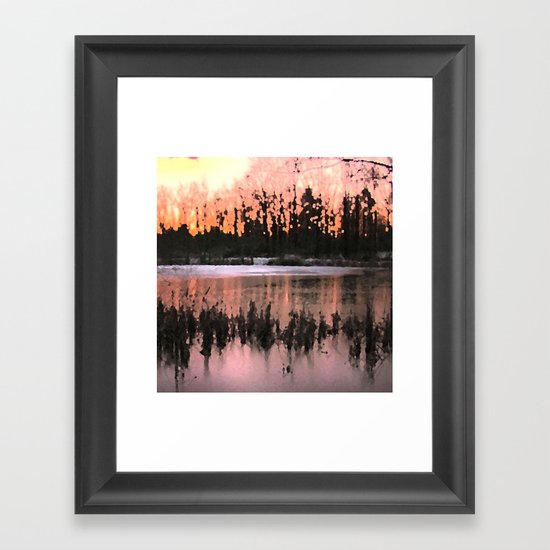 Sunset Impressions Framed Art Print
