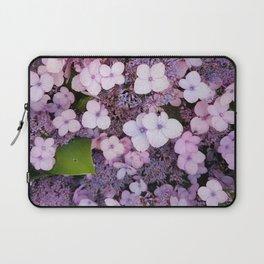 Bain Ave Flowers Laptop Sleeve