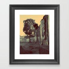 Plant Apocalypse Framed Art Print