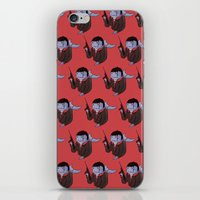 scarface iPhone & iPod Skins featuring Scarface Whale by CoolBreezDesigns