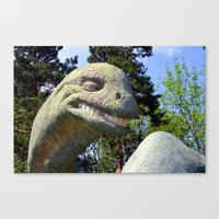 dino Canvas Prints featuring Dino  by Bakal Evgeny
