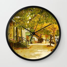 Norway, ME Wall Clock