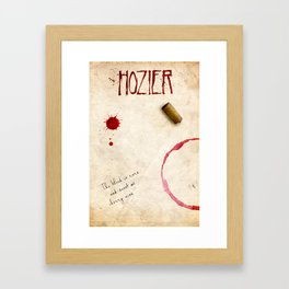 Hozier Framed Art Print