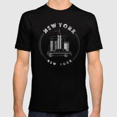 New York, New York Mens Fitted Tee Black MEDIUM