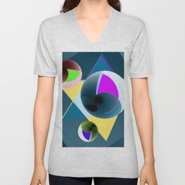 Updated with bowls Unisex V-Neck