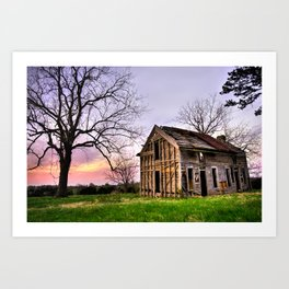 Abandoned Memories - Northwest Arkansas Wall Art Art Print