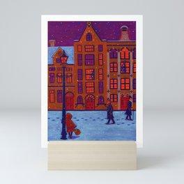 Little Match Girl Mini Art Print