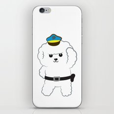 Animal police - Bichon Frisé iPhone & iPod Skin