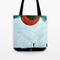 sansa stark Tote Bags featuring Found in isolation by Stoian Hitrov - Sto