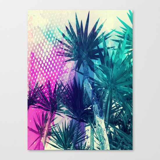 Tropical Explosion Canvas Print
