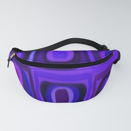 Violets in Blue Windows Fanny Pack
