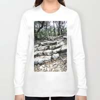 stone Long Sleeve T-shirts featuring Stone by Casey Sprau