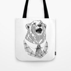 Mr  Bear Tote Bag