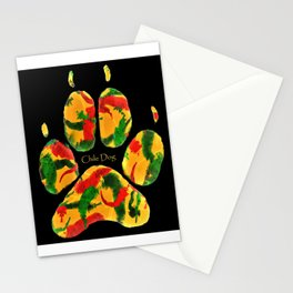 Chile Dog Print Stationery Cards