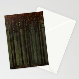Autumn Forest - Pixel Art Stationery Cards