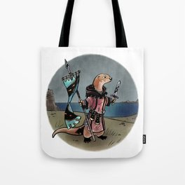 Ready and Waiting Tote Bag