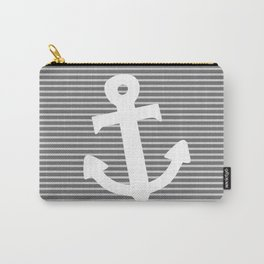 Anchor stripe Carry-All Pouch