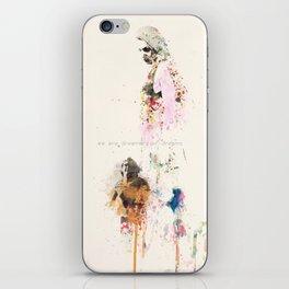Are we human? iPhone Skin