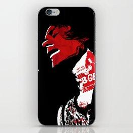 DeeDee R / Punk Rock Hero iPhone Skin