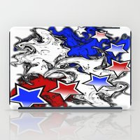 american iPad Cases featuring AMERICAN  by Robleedesigns