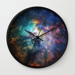 Lagoon Nebula / Second Version Wall Clock