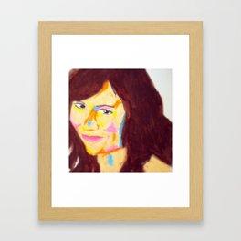 Steph Framed Art Print