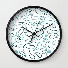 I AM NOT AFRAID white Wall Clock