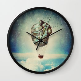 The Unforgettable Love Journey 2 Wall Clock